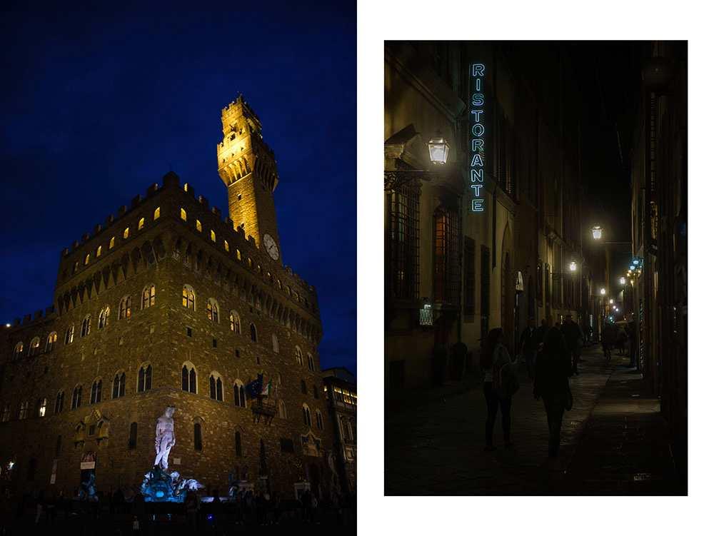 florence, at night, italy, renaissance, city, dark, blue
