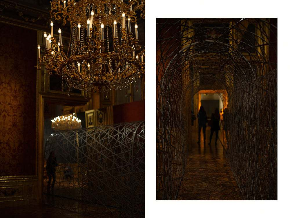 olafurbaroque, olafur eliasson, winterpalais, belvedere, vienna, exhibition, modern, baroque, installatuion, light