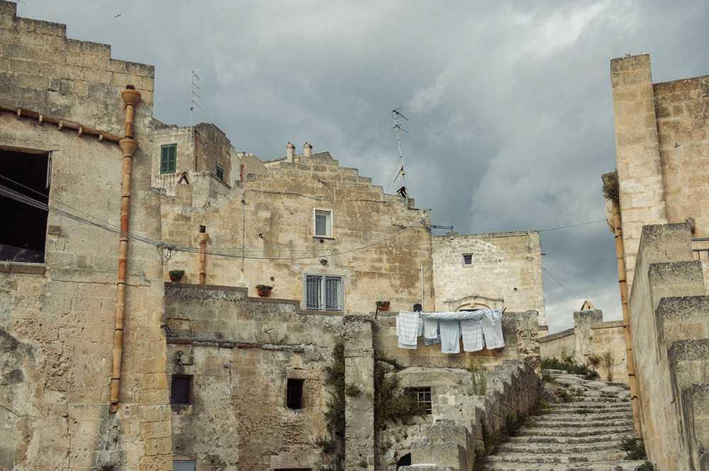 matera, italy, sasso barisano, rock, caves, autumn, church, monstery