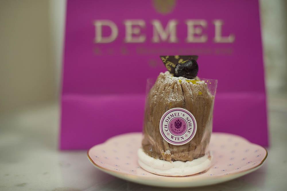 demel, sweet treet, vienna, chestnuts marrons