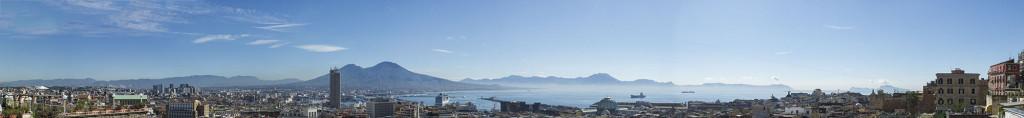 napoli, rooftops, from above, quartieri spagnoli, spanish quater, italy, blue sky
