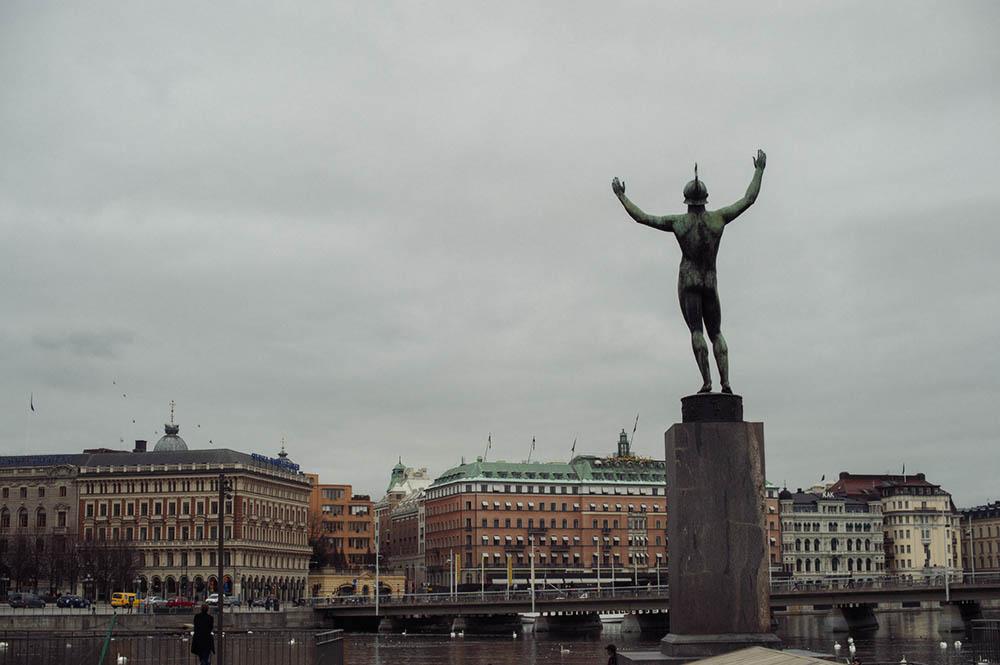 stockholm, sweden, östermalm,strömparterren