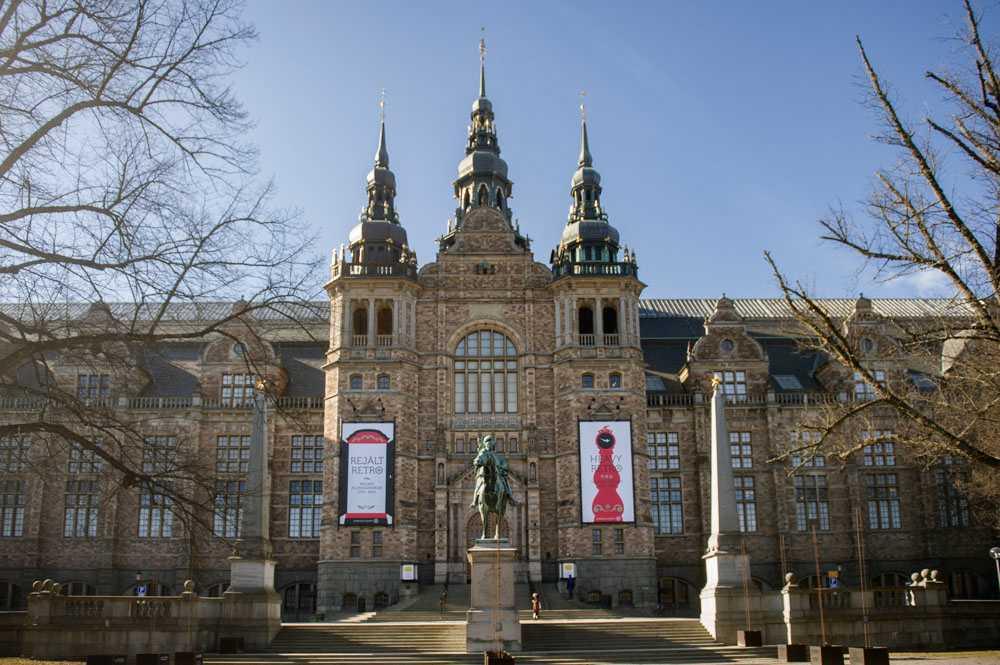 djurgarden, nordic museum, stockhom, sweden