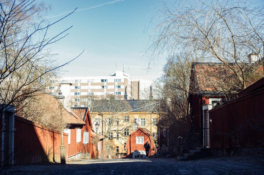 södermalm, fjaellgatan, stockholm, sweden