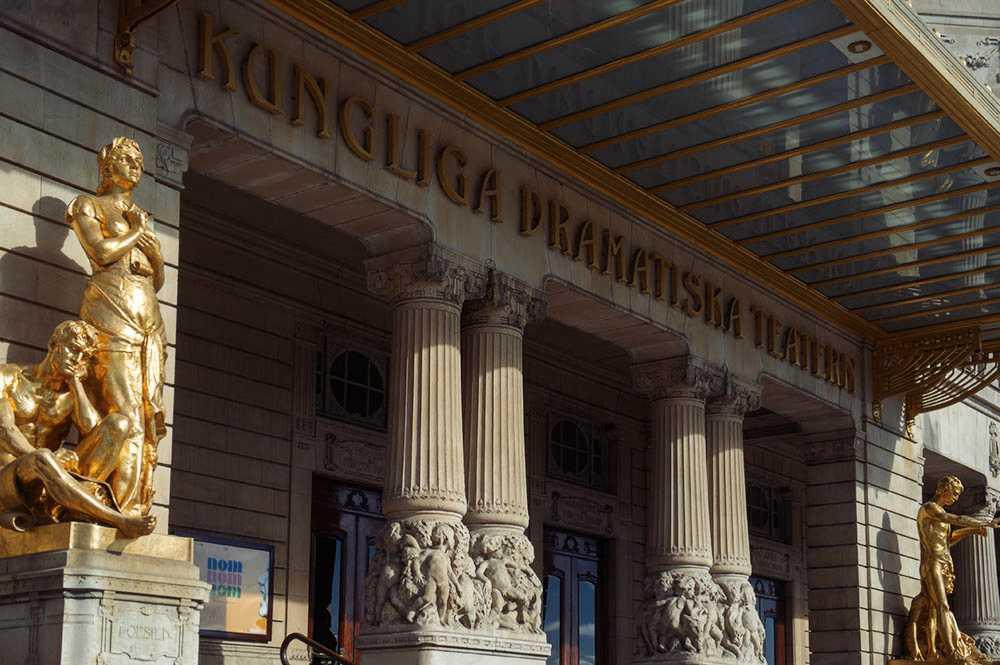 dramaten, stockholm, sweden, theatre, jugendstil, art noveau