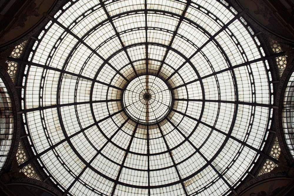 galleria Vittorio Emanuele II, milan, milano, italy, duomo, glas, stone, sights, roof, italy