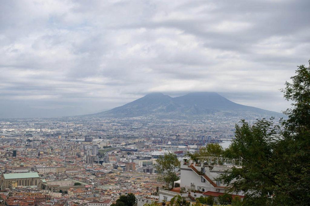 vomero, napoli, italy, stairs, view, travel, city, urban