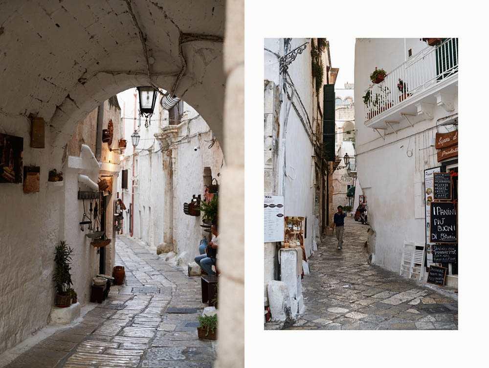ostuni, white town, puglia, italia