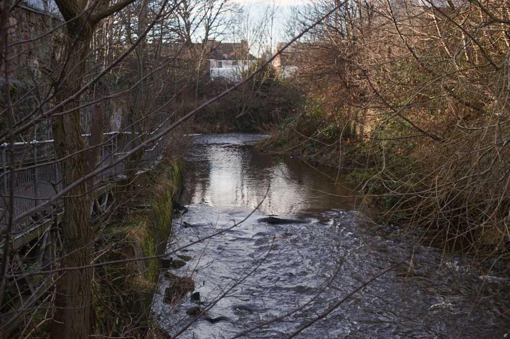 water of leith path, edinburgh, scotland, leith, uk, walkway