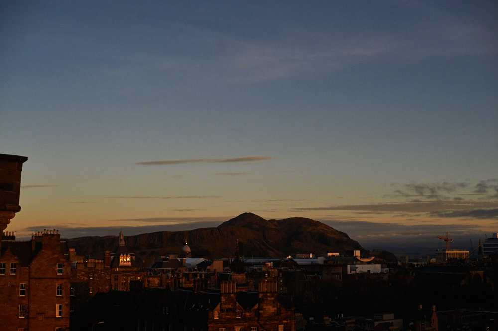 edinburgh, castle, scotland, uk, ursula schmitz, sunset