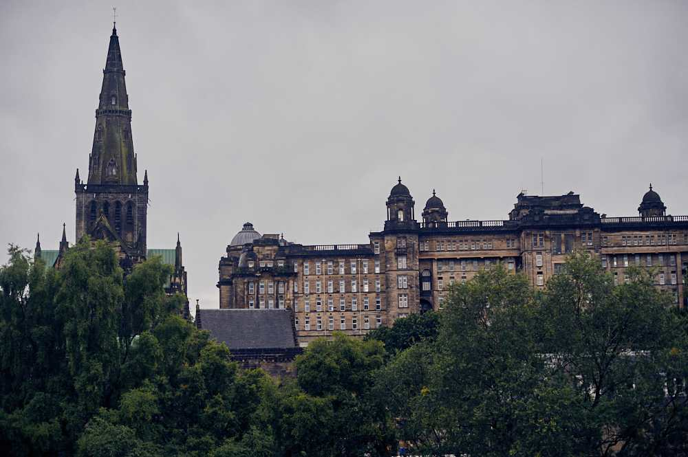 glasgow, scotland, uk, cemetery, victorian, travel, my trip to the highlands