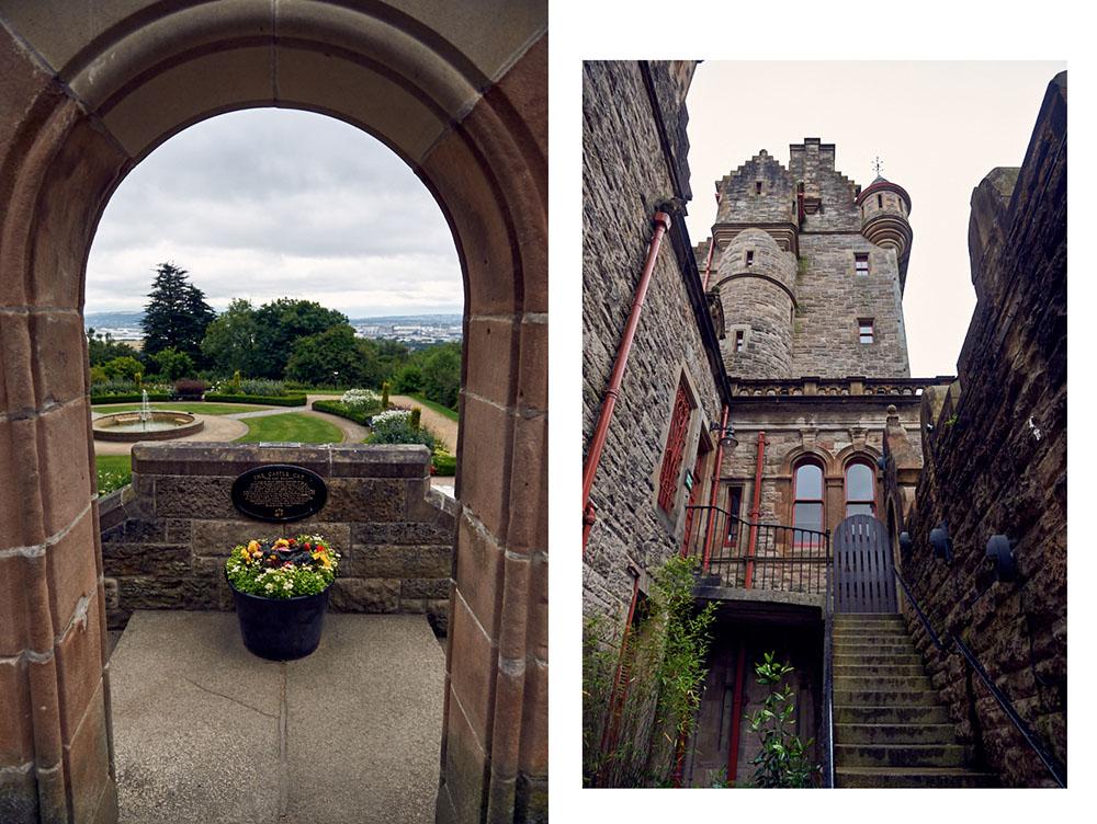 northern ireland, belfast lough, causeway coast, belfast castle, landscape
