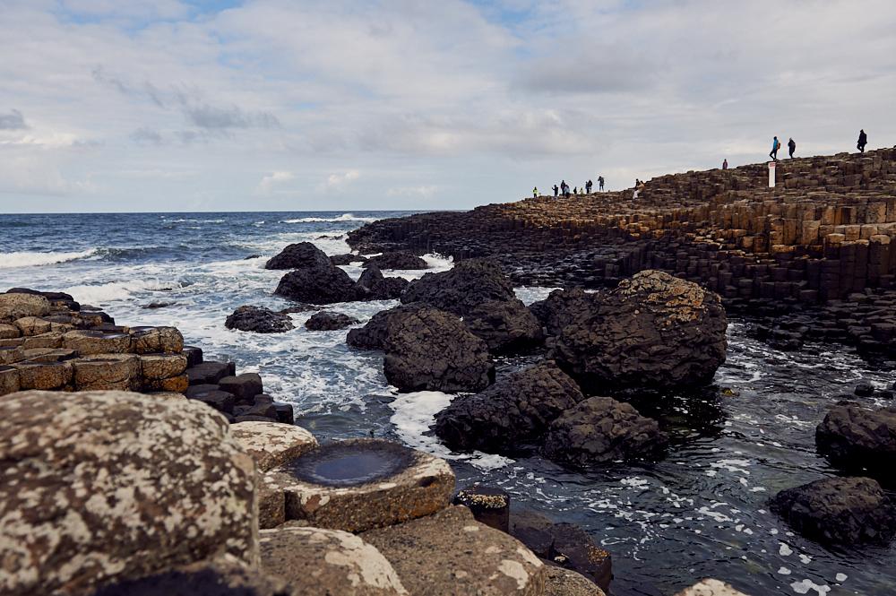 giant´s causeway, northern ireland, county antrim, uk, basalt, ocean