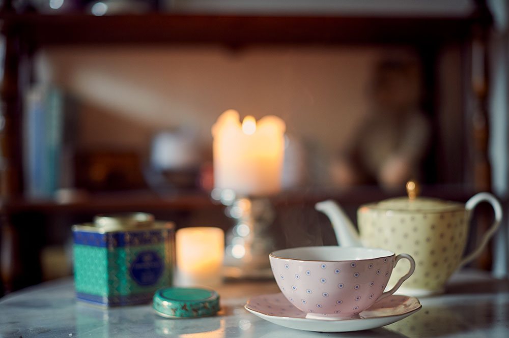 uk, teatime, photos and the city, fortnum & mason, tea, cozy, winter, candles, ursula schmitz