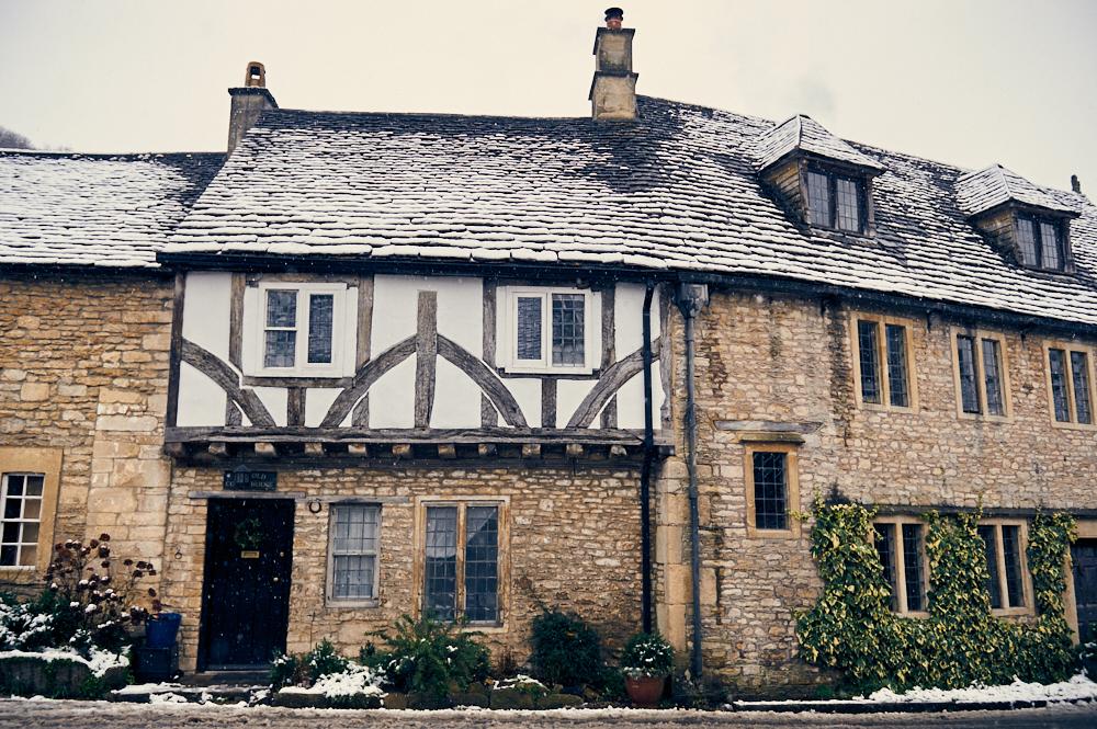 castle combe, cotswolds, england, uk, great britain, winter wonderland, winter, snow, village, cottage, snow