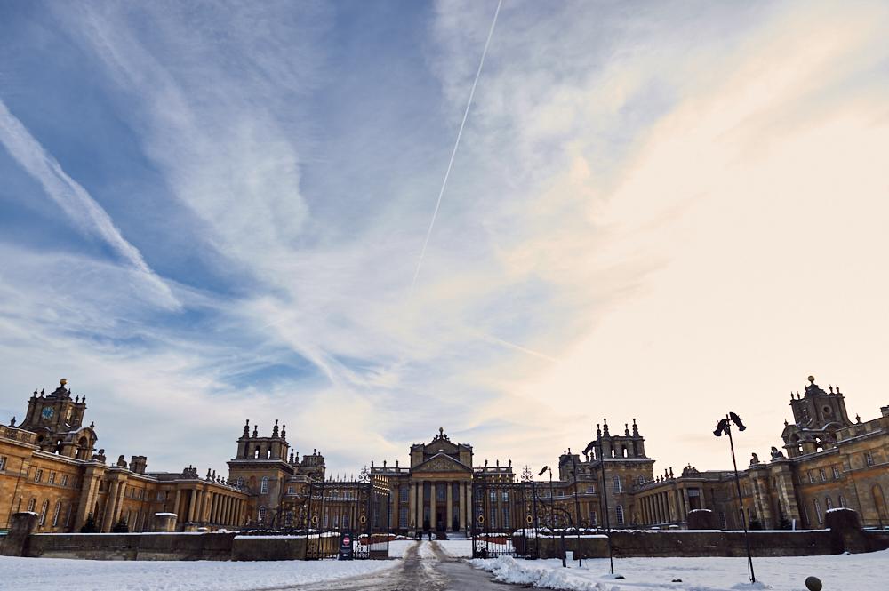blenheim palace, cotswolds, england, uk, winter wonderland, winter, snow, movie location, travel, roadtrip
