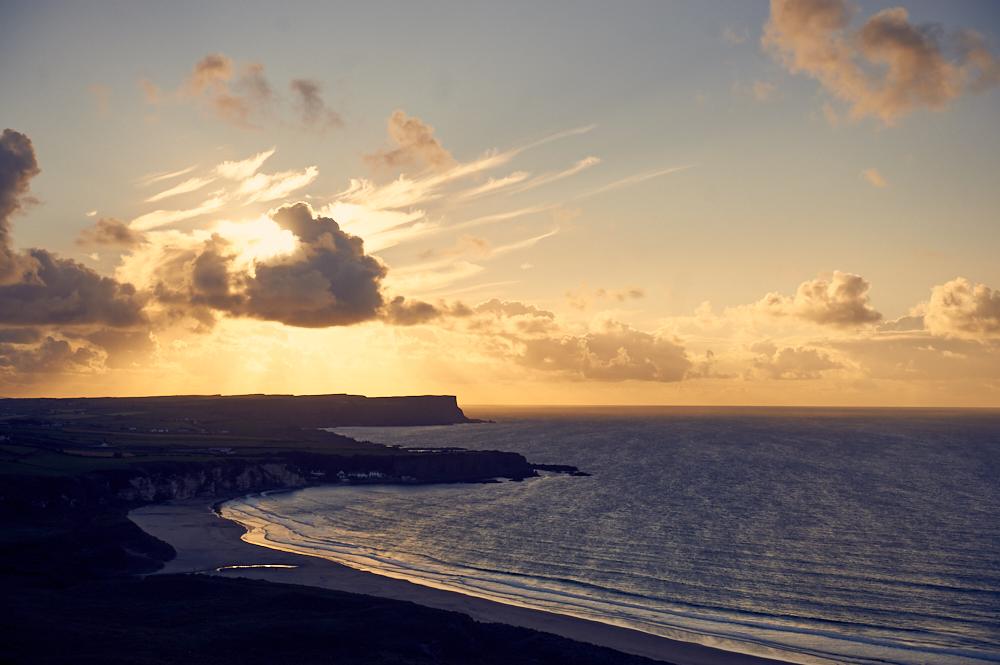 white park bay beach, northern ireland, uk, causeway coast
