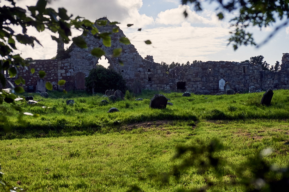 ballycastle, golf, abbey, ruins, Bonamargy Friary, causeway coast