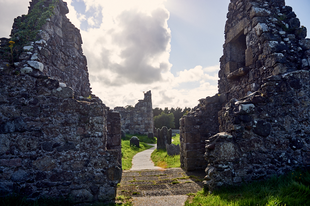 ballycastle, golf, abbey, ruins, Bonamargy Friary, causeway coast