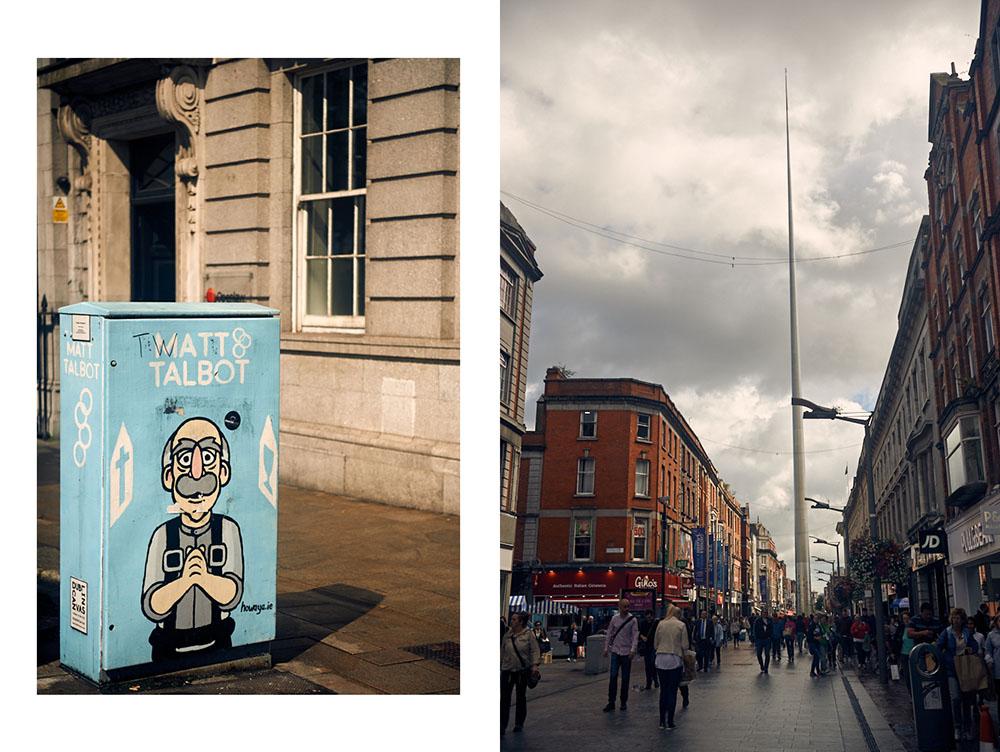 Walking around Dublin 29