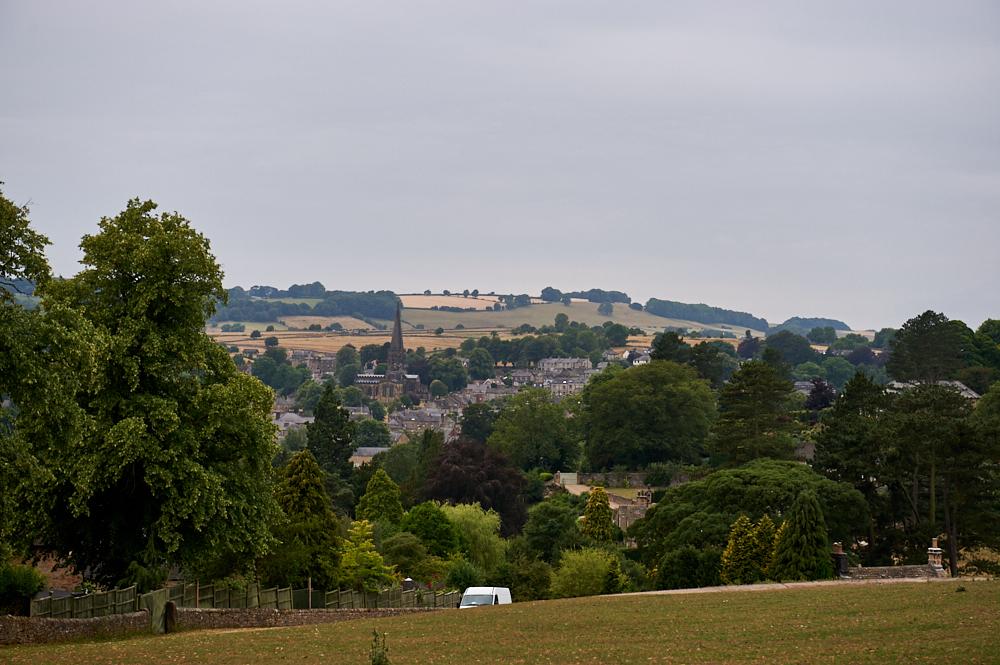 bakewell, edensor, chatsworth estate, peak district, england, uk, ursulaschmitz