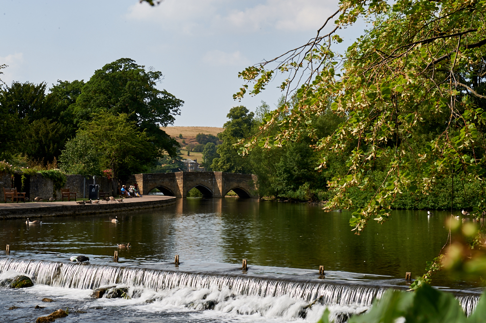 bakewell, peak district, england, uk, village, town, british,