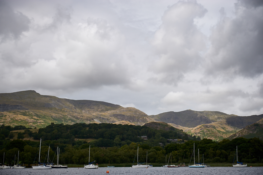 coniston water, national trust, cumbria, lake district, victorian, steam gondola, boat trip, photos and the city