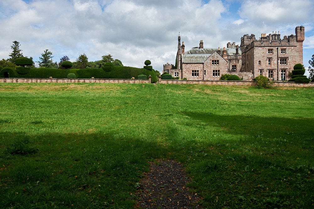 hutton in the forest, cumbria, england, uk, photos and the city, historic building, house, building, walled garden