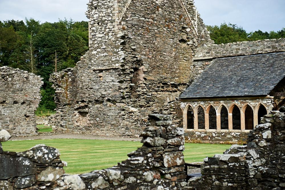 glenluce abbey, scotland, ruins, dumfries, galloway,
