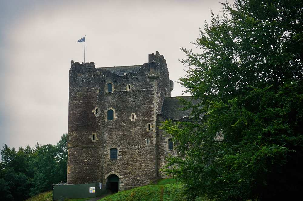 doune castle, scotland, loch lomond, uk, stirling