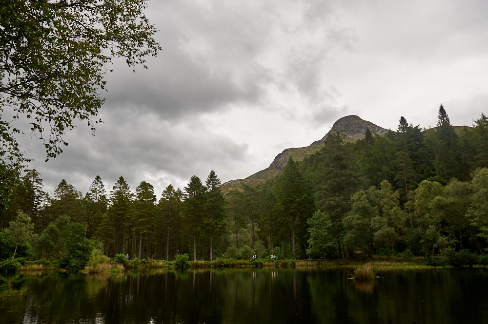 glen coe, glencoe, lochan, lake, scotland, uk, my british summer, forrest, mountains, wood, water, sky, clouds, photography, travel, destination