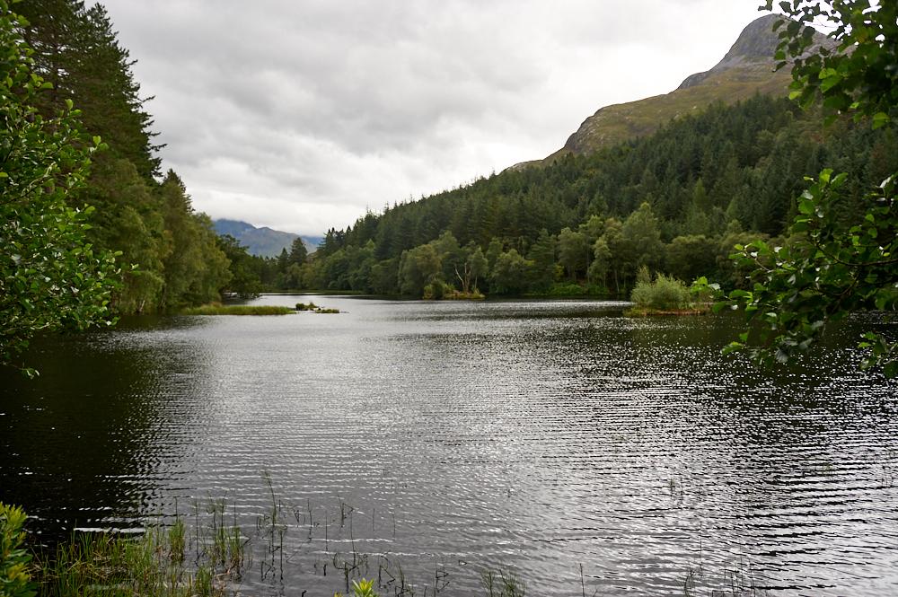 glen coe, glencoe, lochan, lake, scotland, uk, my british summer, forrest, mountains, wood, water, sky, clouds, photography, travel, destination
