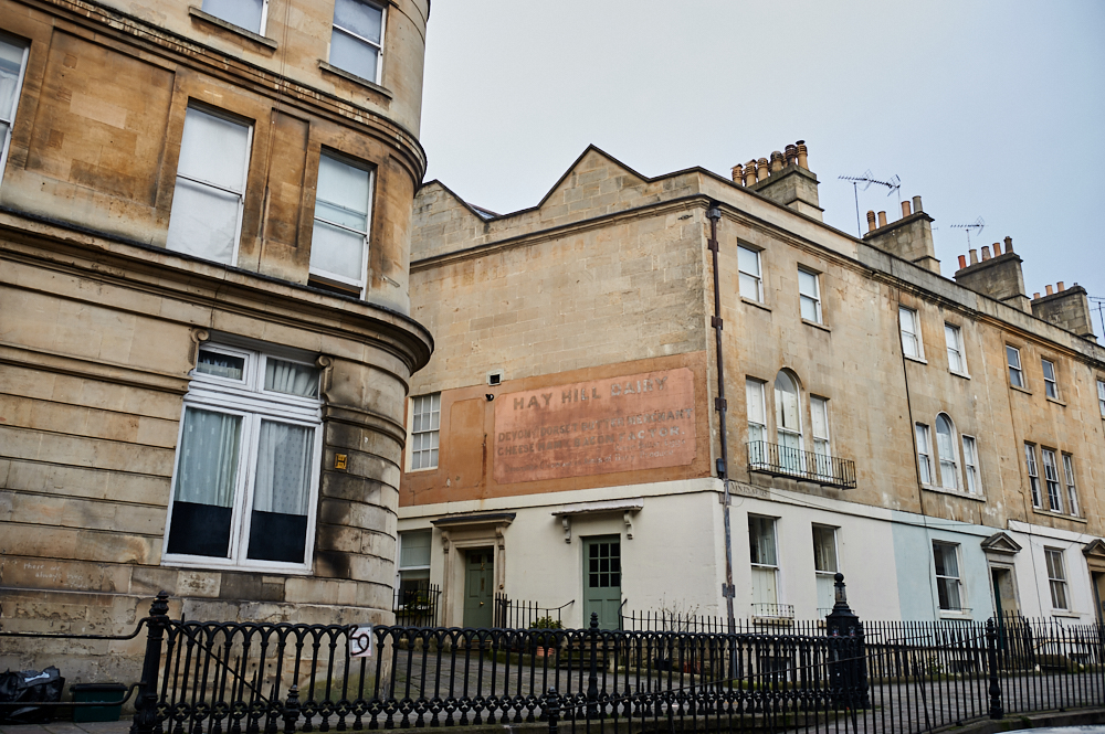 bath, somerset, uk, england, ghost signs, city, once upon a time ago, gone, lost signs,
