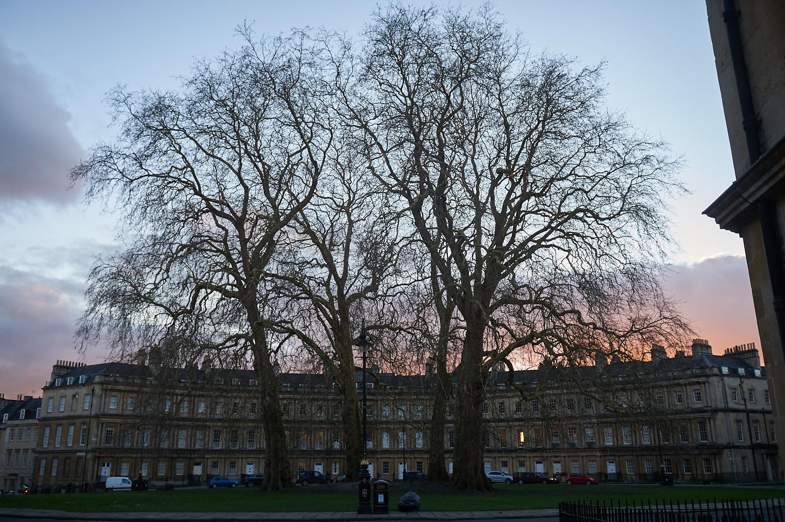 bath, somerset, england, jane austen, town, uk, photos and the city, ursula travels, sunset, the circus