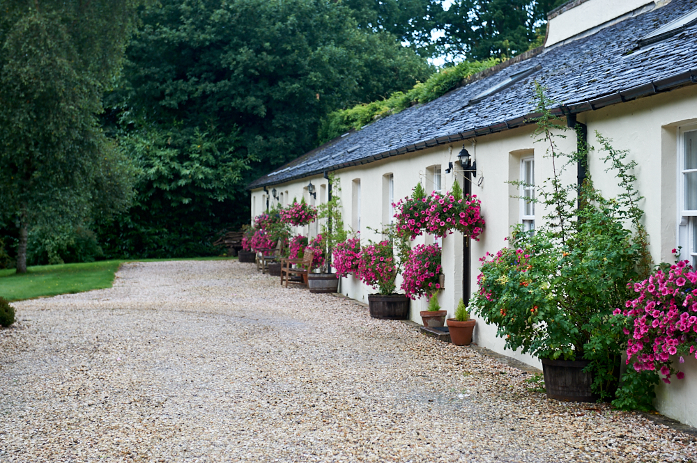 gardeners cottages, loch lomond, bellanoch, scotland, uk, my british summer, walled garden, cute, flowers, cozy, self care, arden house
