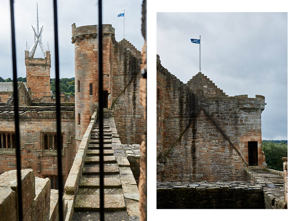 Linlithgow Palace, Scotland, Mary Queen of Scots, ruins, UK, West Lothian,