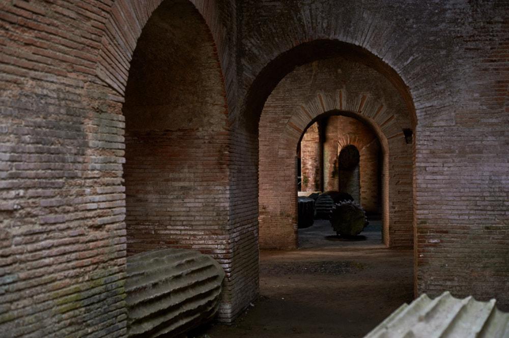 napoli, italy, pozzuoli, old romans, ruine, ruins, port, harbour, summer, holiday, dolce vita