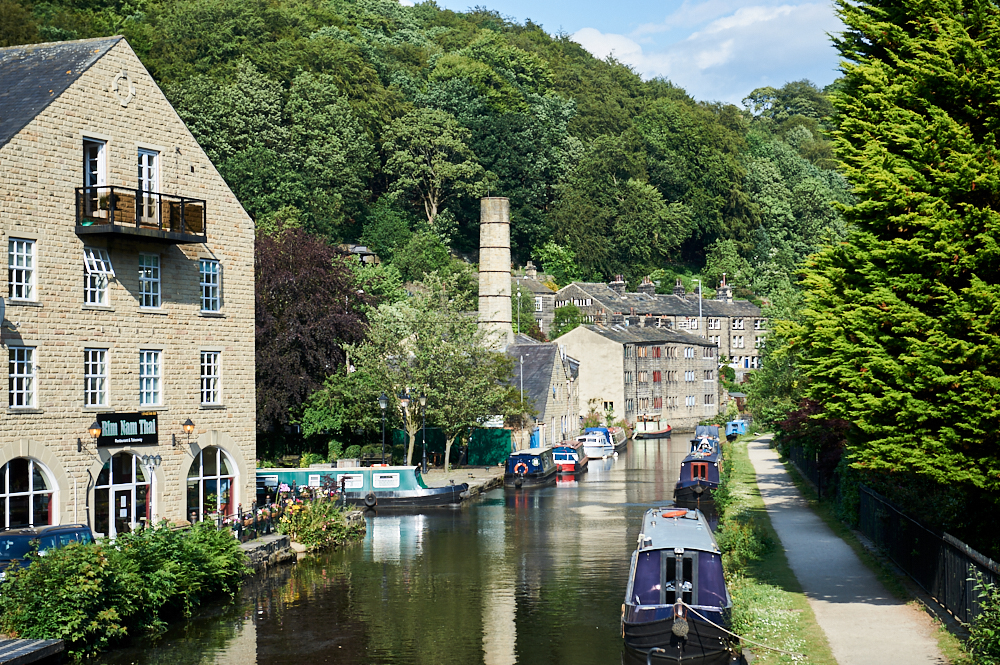 hebden bridge, yorkshire, south pennies, england, love greatbritain, ursulaschmitz, photos and the city, travel, summer, town, village,