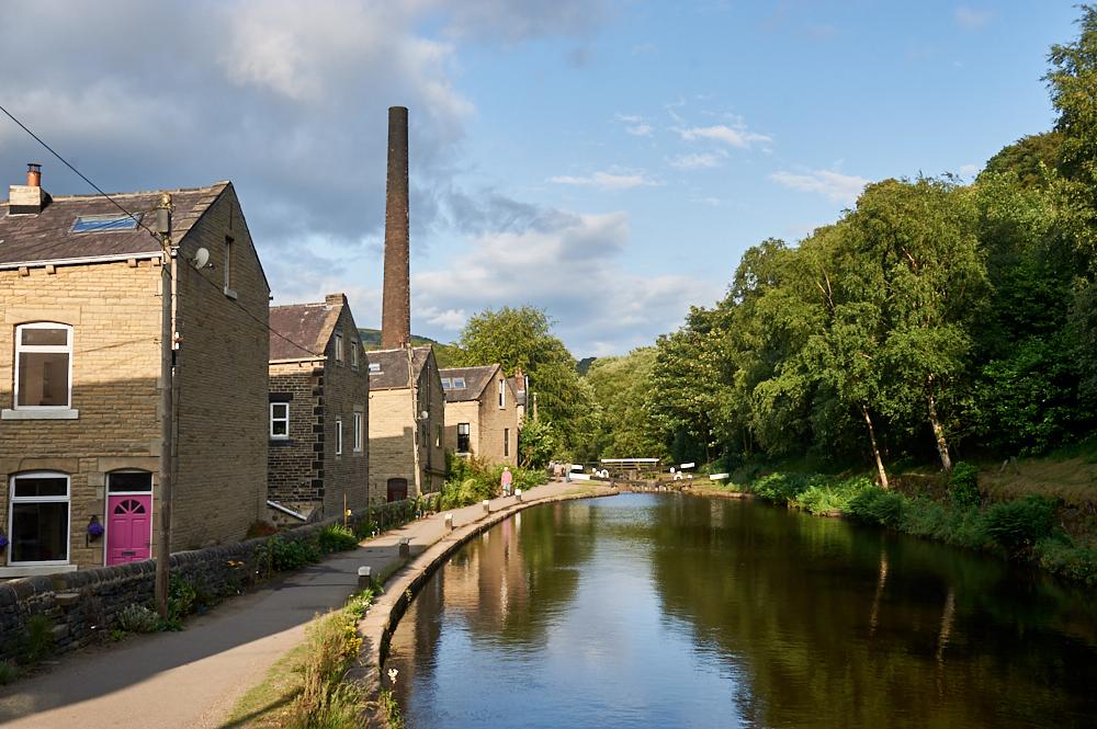 hebden bridge, yorkshire, south pennies, england, love greatbritain, ursulaschmitz, photos and the city, travel, summer, town, village,