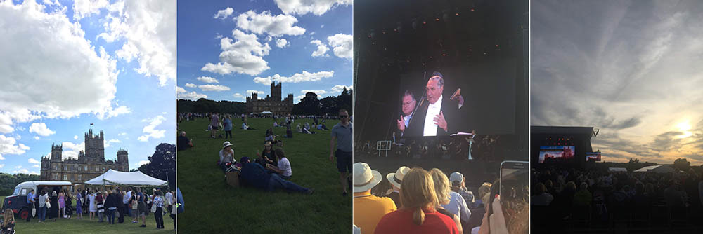 downton abbec, highclere castle, music of downton abbey, concert, summer