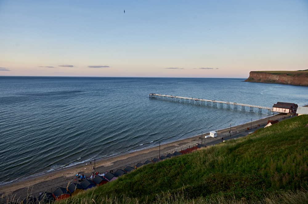 saltburn, yorkshire, sea, coast, beach. sunset, travel, photos and the city, england, uk, united kingdom, my british summer, travelblog, best beach in england, village, town