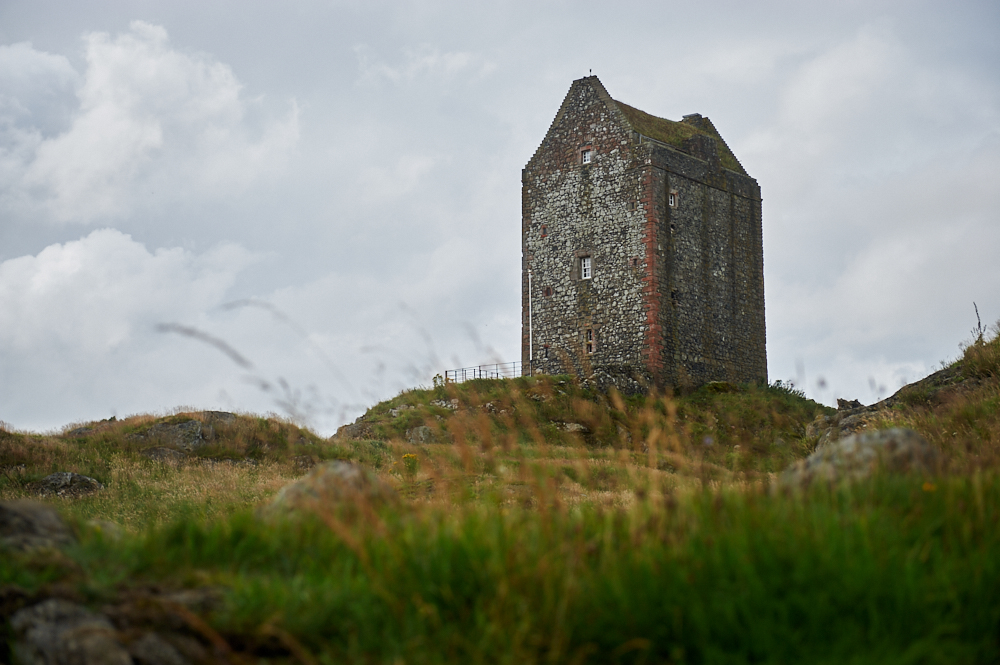 Smailholm Tower near Kelso in the Scottish Borders