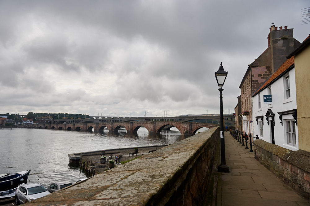 Berwick Upon Tweed, visiting the northernmost town in England, right in between the Scottish Borders.