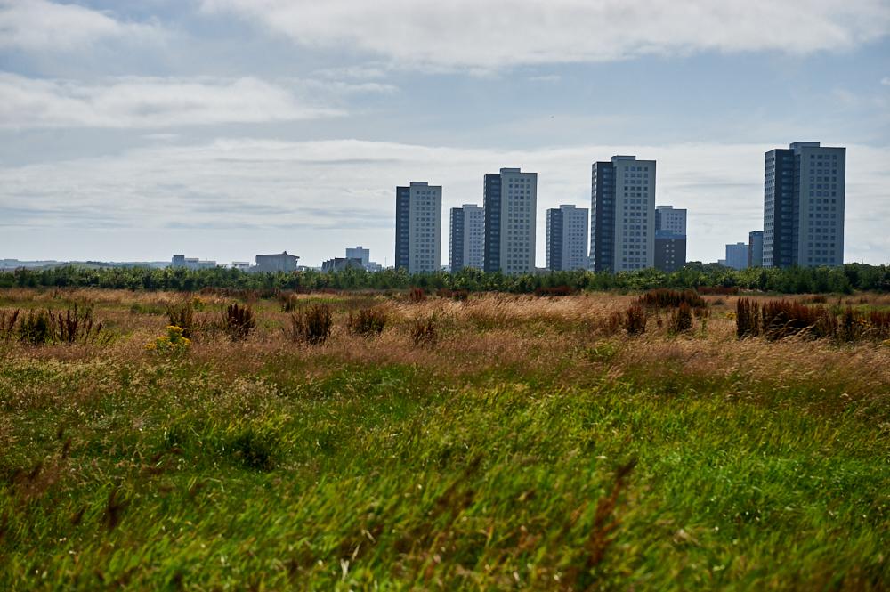Strolling around Aberdeen from Seaton´s Garden to skyscrapers