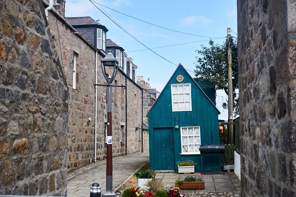 Right next to Aberdeen harbour is Foodee, Fittie, a charming little fishing village in the middle of the city.