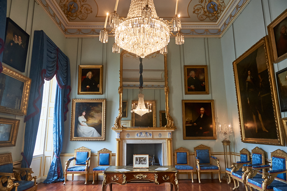 Visiting the glorious Duff House in Banff, Scotland
