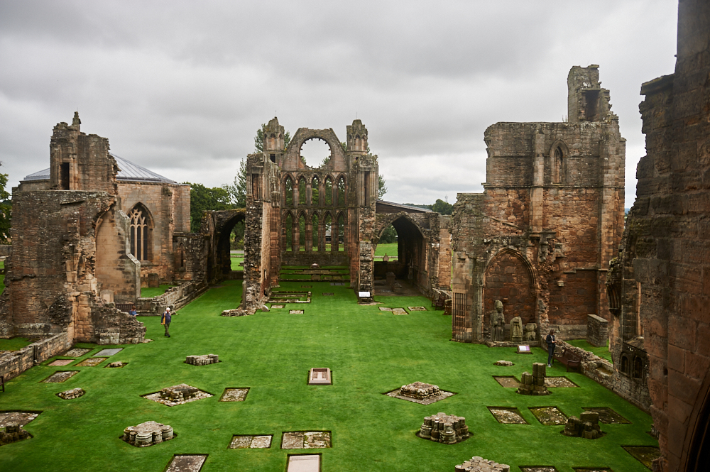 "Elgin Cathedral, the ""Lantern of the North"", Even as a ruin, the cathedral shines out as one of Scotland's most ambitious and beautiful medieval buildings."