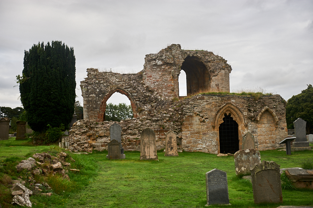 Kinloss Abbey is a Cistercian abbey at Kinloss in the county of Moray, Scotland.