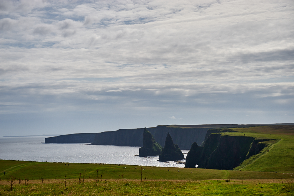 Duncansby Head is the most northeasterly part of the British mainland and offers an amazing view!