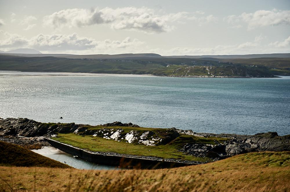Taking a little walk along Tongue Bay, near Skullomie harbour.